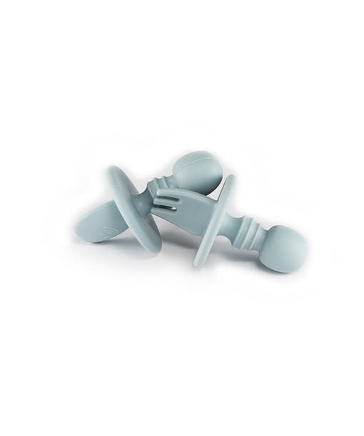 Silicone Baby Spoon, Silicone Baby Fork, Baby's First Cutlery